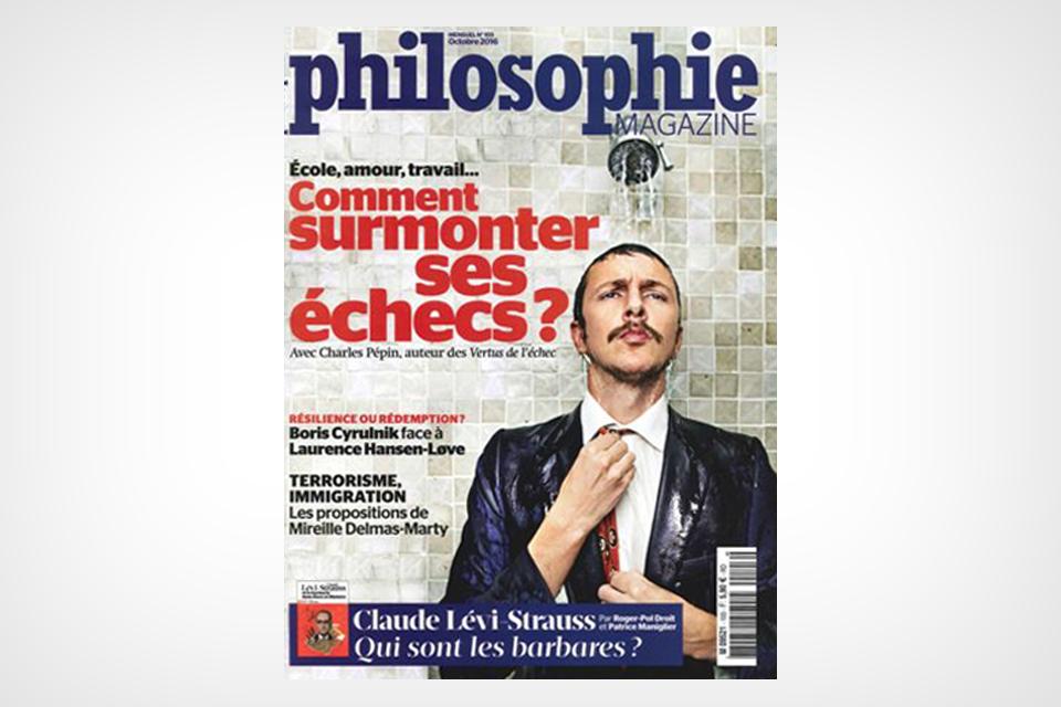 Lévi-Strauss et la barbarie (Philosophie Magazine, octobre 2016)