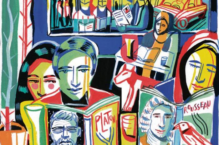 Une collection de 34 volumes d'oeuvres majeures dont Roger-Pol Droit est le parrain