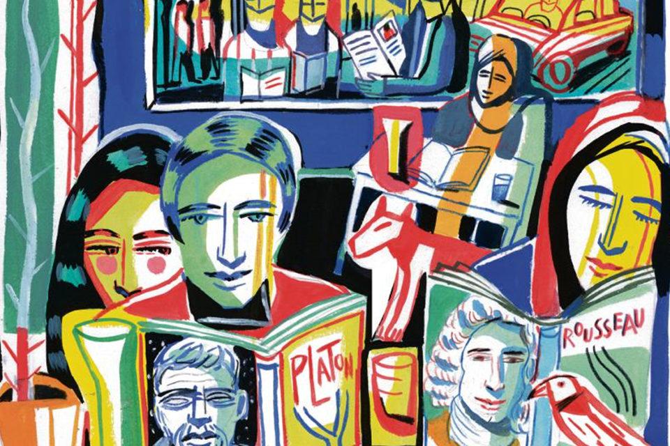Une collection de 34 volumes d'oeuvres majeures, dont Roger-Pol Droit est le parrain