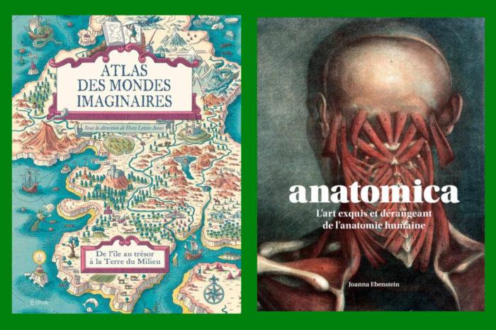 Beaux livres 2020. « Atlas des mondes imaginaires » et « Anatomica »